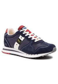 Blauer Sneakersy S1QUARTZ01/MES Granatowy. Kolor: niebieski