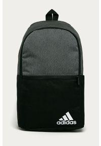 Szary plecak Adidas z nadrukiem