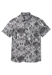 Beżowa koszula bonprix krótka, z krótkim rękawem