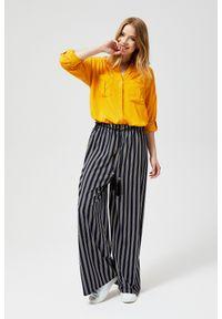 Spodnie MOODO w paski, długie