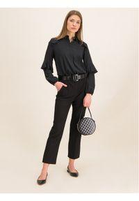 iBlues Koszula 71161096 Czarny Regular Fit. Kolor: czarny #5