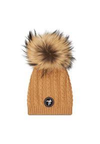Brązowa czapka zimowa Togoshi
