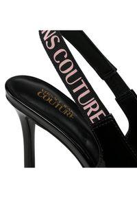 Versace Jeans Couture Sandały E0VWAS52 Czarny. Kolor: czarny