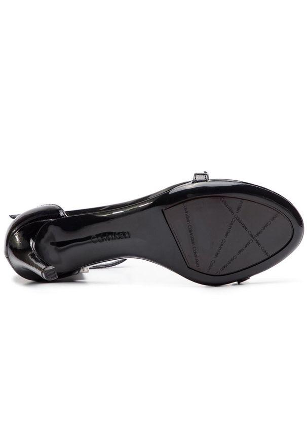 Czarne sandały Calvin Klein