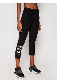 Dsquared2 Underwear Legginsy D8N473450 Czarny Slim Fit. Kolor: czarny