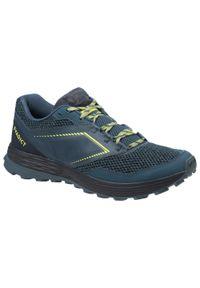 EVADICT - Buty do biegania w terenie męskie Evadict TR Trail. Zapięcie: sznurówki. Kolor: niebieski, wielokolorowy, szary. Materiał: kauczuk, materiał