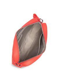 Lacoste Torebka Square Crossover Bag NF2771DC Pomarańczowy. Kolor: pomarańczowy