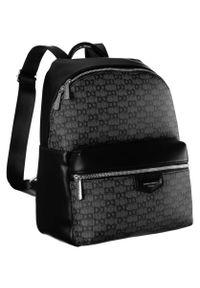 DAVID JONES - Plecak damski czarny David Jones 805506 BLACK. Kolor: czarny. Materiał: skóra ekologiczna