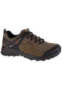 Zielone buty trekkingowe keen z cholewką
