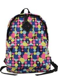 BAGINC Plecak szkolny Colorful Dots niebieski. Kolor: niebieski