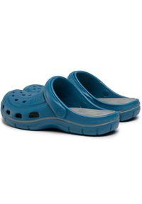 Niebieskie klapki Coqui
