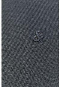 Jack & Jones - Bluza bawełniana. Okazja: na co dzień. Kolor: niebieski. Materiał: bawełna. Styl: casual