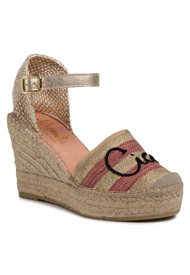 Złote sandały Vidorreta