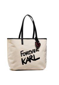 Beżowa torebka Karl Lagerfeld