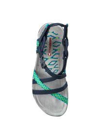 Niebieskie sandały Merrell na co dzień, sportowe