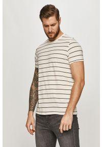 Szary t-shirt Levi's® biznesowy, na co dzień