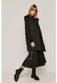 Czarny sweter medicine długi, casualowy, z długim rękawem
