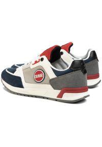 Colmar - Sneakersy COLMAR - Supreme Pro Ross 058 Lt Gray/Red/Navy. Okazja: na co dzień. Kolor: szary. Materiał: zamsz, materiał, skóra ekologiczna. Szerokość cholewki: normalna. Styl: casual, sportowy, klasyczny, elegancki