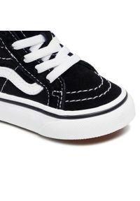 Vans - Sneakersy VANS - Sk8-Hi Zip VN000XG5Y281 Black/White. Kolor: czarny. Materiał: zamsz, materiał, skóra. Szerokość cholewki: normalna. Styl: młodzieżowy