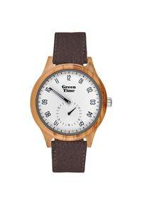 Biały zegarek Green Time elegancki