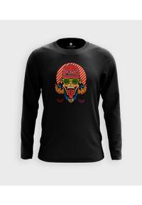 MegaKoszulki - Koszulka męska z dł. rękawem Małpa funky. Materiał: bawełna