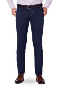 Niebieskie spodnie Lancerto na wiosnę, na co dzień, z haftami, casualowe #1