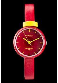 Czerwony zegarek Perfect