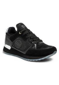 Colmar - Sneakersy COLMAR - Supreme Gloom 122 Black. Okazja: na co dzień, na spacer. Kolor: czarny. Materiał: skóra ekologiczna, materiał, skóra. Szerokość cholewki: normalna. Sezon: lato. Styl: casual