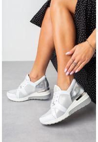 Białe buty sportowe Kati na co dzień