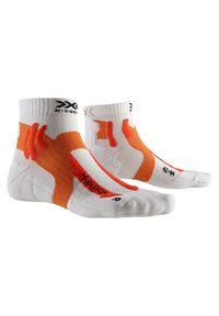 Skarpety do biegania X-Socks Marathon XSRS11. Materiał: materiał, skóra, poliamid, poliester, elastan. Sport: fitness
