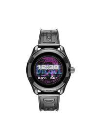 Diesel - Smartwatch DIESEL - Fadelite DZT2018 Grey/Grey. Rodzaj zegarka: smartwatch. Kolor: szary