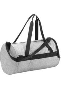 DOMYOS - Plecak fitness 20 l. Kolor: szary. Materiał: poliester, materiał. Wzór: paski. Sport: fitness