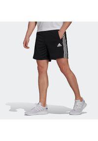 Adidas - Spodenki fitness. Materiał: skóra, poliester. Sport: fitness