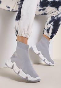 Renee - Szare Sneakersy Vasilisa. Kolor: szary
