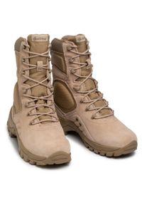 Beżowe buty trekkingowe Bates Gore-Tex