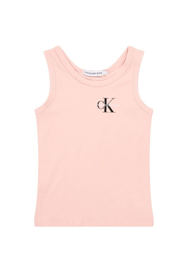 Różowy top Calvin Klein Jeans