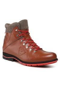 Brązowe buty zimowe Rossignol