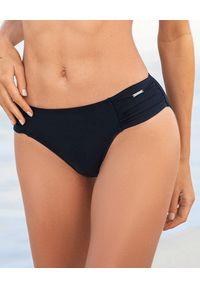 CAHA CAPO - Czarny dół od bikini Janice. Kolor: czarny. Materiał: materiał