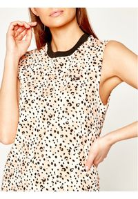Vans Sukienka letnia Leila Muscle Tee VN0A4P34VD91 Kolorowy Regular Fit. Wzór: kolorowy. Sezon: lato
