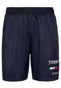 Niebieskie spodenki sportowe Tommy Sport