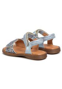 Niebieskie sandały Froddo na co dzień, z aplikacjami #6