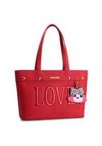 Love Moschino - Torebka LOVE MOSCHINO - JC4253PP07KH0500 Rosso. Kolor: czerwony. Materiał: skórzane. Styl: klasyczny