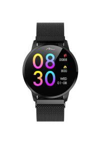 Czarny zegarek Media-Tech smartwatch