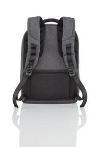 Czarny plecak TITAN w kolorowe wzory, biznesowy #6