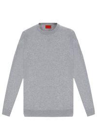 Szary sweter klasyczny Vistula