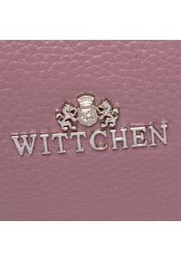 Wittchen - Torebka WITTCHEN - 29-4E-005-P Fioletowy. Kolor: fioletowy. Materiał: skórzane. Styl: klasyczny