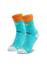 Zielone skarpetki Dots Socks