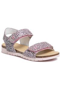 Różowe sandały Bartek na lato