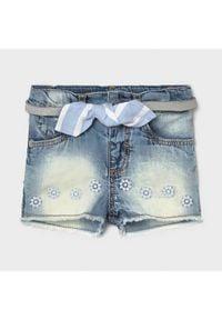 Mayoral Szorty jeansowe 1225 Niebieski Regular Fit. Kolor: niebieski. Materiał: jeans
