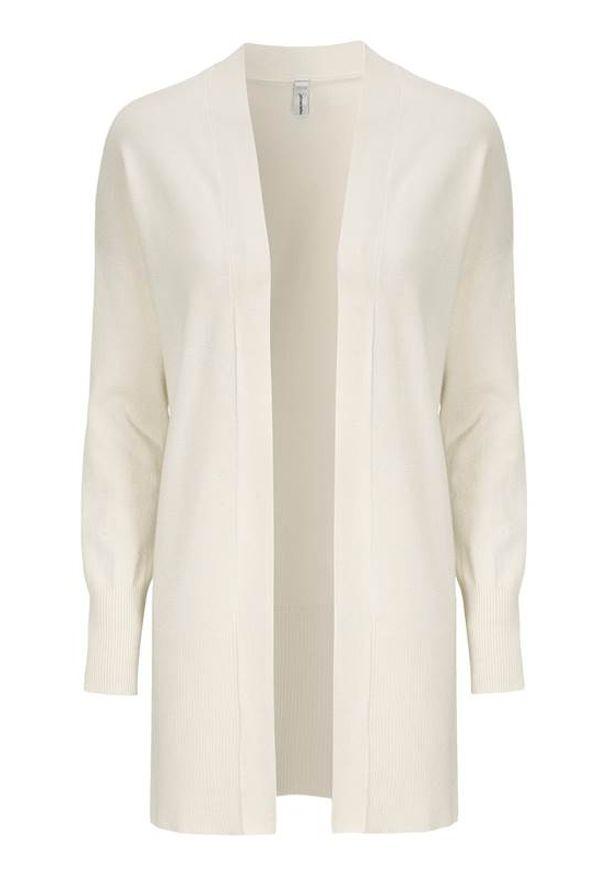 Soyaconcept Sweter Dollie złamana biel female biały M (40). Kolor: biały. Materiał: dzianina. Długość: długie